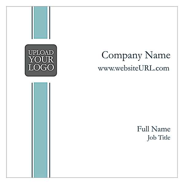 Single Stripe front - Ultra Business Cards Maker