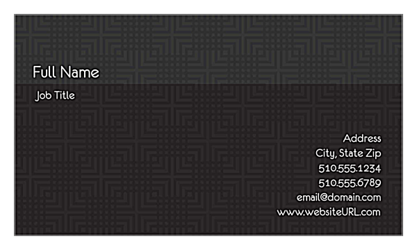 Business Cards-Individual-57 back - Ultra Business Cards Maker