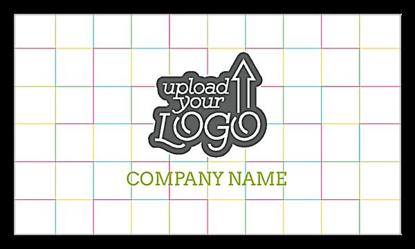 Color Grid back - Ultra Business Cards Maker