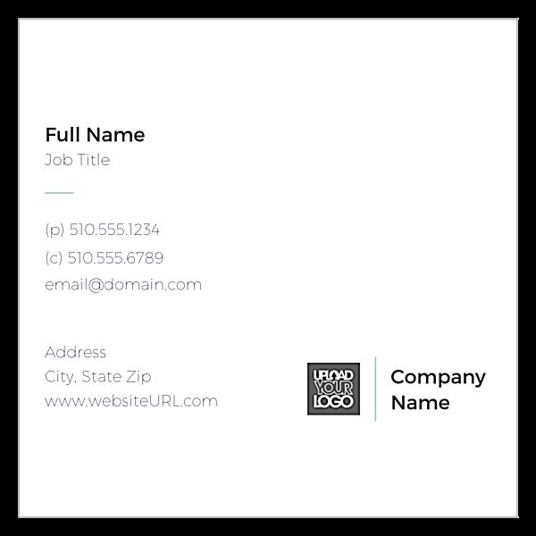 Tiled Card front - Ultra Business Cards Maker