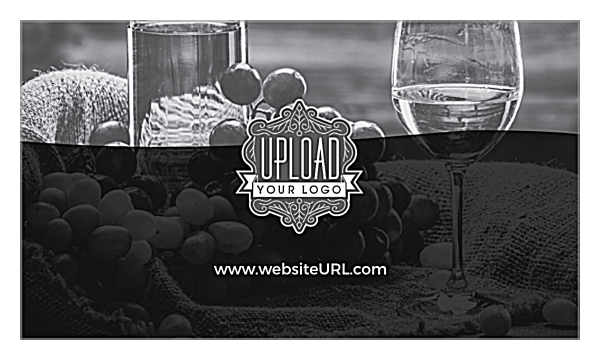 Swirl the Wine back - Ultra Business Cards Maker
