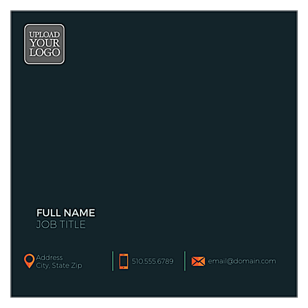 Logo Layout front - Ultra Business Cards Maker