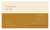 Polka Dots - ultra-business-cards Maker