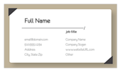 Indexed Elegance - ultra-business-cards Maker