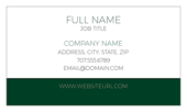 Stripe Down Below - ultra-business-cards Maker
