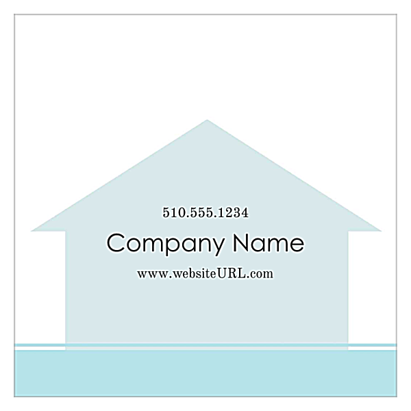 Home Again Real Estate back - Ultra Business Cards Maker
