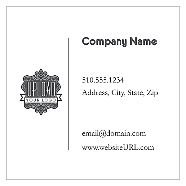 Soft Blue Retail front - Ultra Business Cards Maker