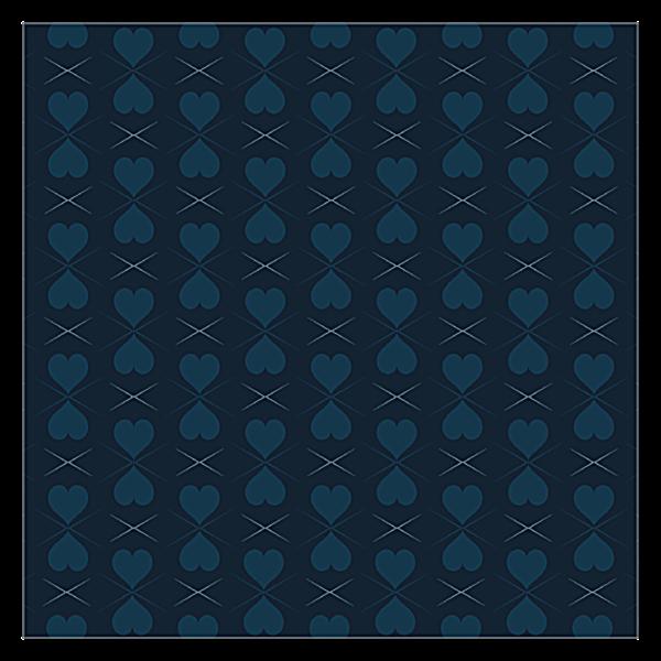 Pattern of Hearts back - Ultra Business Cards Maker