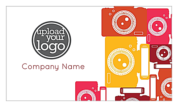 Colorful ISO front - Ultra Business Cards Maker