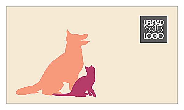 Furry Friends front - Ultra Business Cards Maker