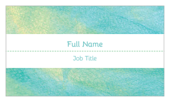 Teal Shimmer - ultra-business-cards Maker