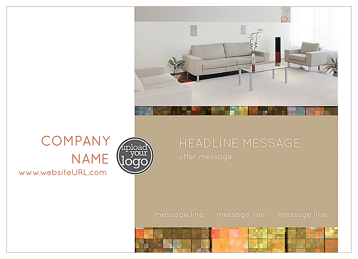 Mosaic Luxury front - Ultra Postcards Maker