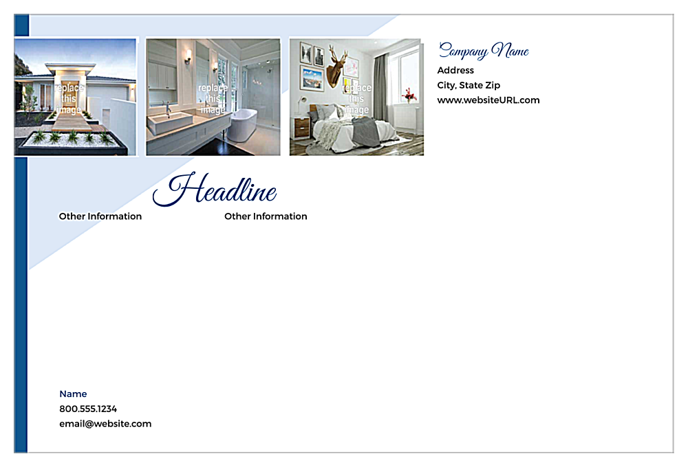 Showcase Estate back - Ultra Postcards Maker